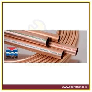 Harga Od 1 jual pipa ac copper streamline mueller od 12 70 mm