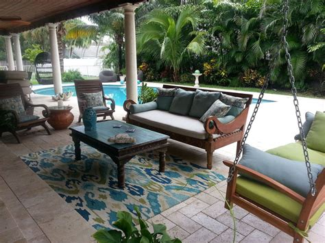 Hometalk   From Weathered to Coastal Patio Table