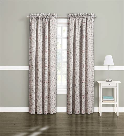 jaclyn smith curtains drapes jaclyn smith logan room darkening split panels medallion