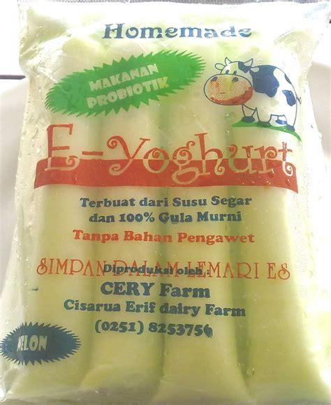 Es Yoghurt Stick Isi 30 Pcs produk kami es lilin yoghurt aneka rasa kaya khasiat