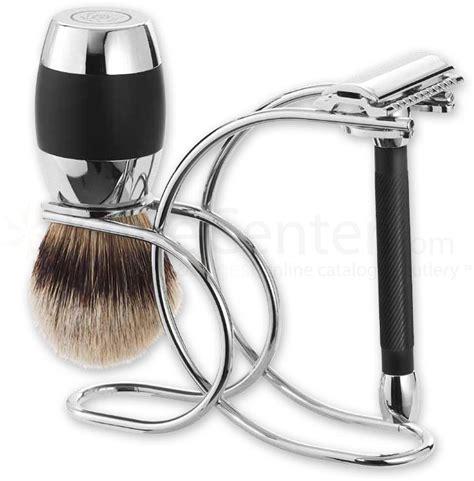 merkur  piece razor shave set polished chrome plated