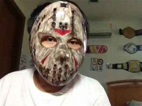 How To Make A Jason Mask Out Of Paper - jason voorhees mask modified hockey mask