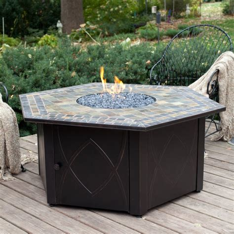patio gas table best outdoor lp gas firepit tables discount patio