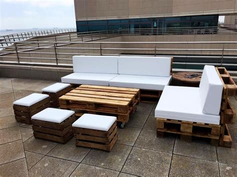 diy pallet outdoor sofa ideas palets muebles de
