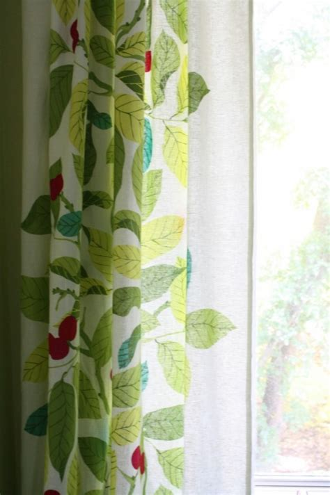 floral curtains ikea remodelaholic high style low cost laundry room makeover