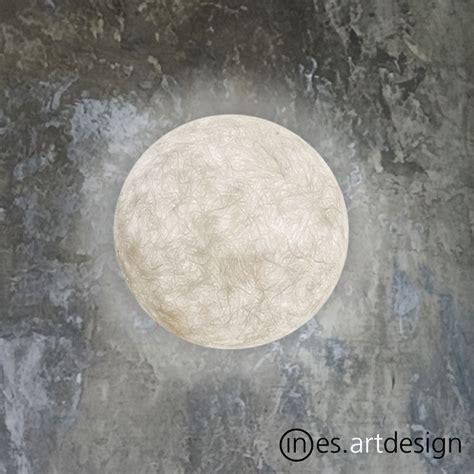 a moon wall light in es art design modernoutlet