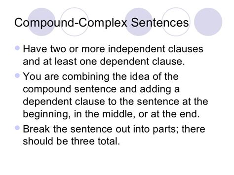 sentence pattern formula parts of speech and sentence structure notes