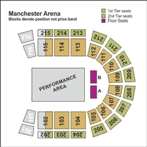 manchester arena floor plan disney on presents passport to adventure manchester arena tickets manchester theatre