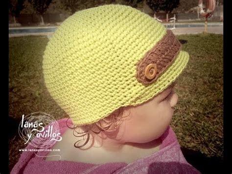 como tejer gorros de crochet tutorial gorro ni 241 o crochet o ganchillo baby hat english