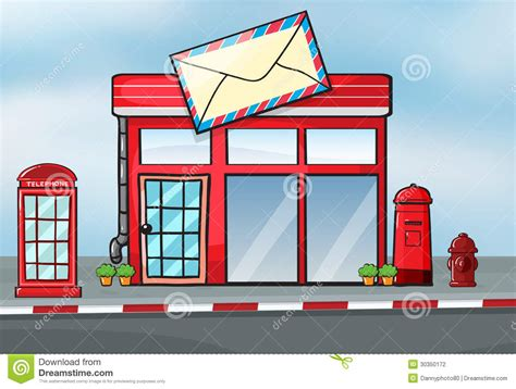 a post office stock photography image 30350172
