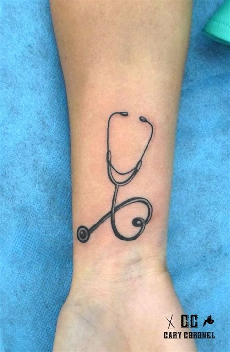 stethoscope tattoo designs 15 ink designs for tattoos nursebuff