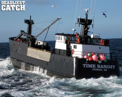 grumpy lobster boat captain beam communications time bandit in the deadliest catch is
