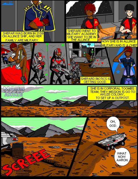 comic book picture effect mass meffect mass effect akuze comic book