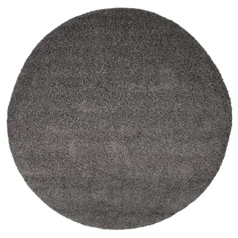 8 foot indoor outdoor rugs lavish home shag charcoal 8 ft x 8 ft indoor outdoor area rug 62 1 c 8rd the home depot