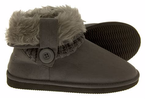 faux fur slipper boots coolers warm faux fur slippers boots comfy winter