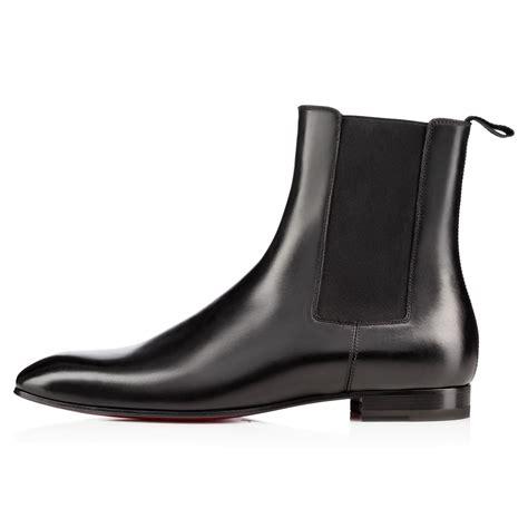 christian louboutin roadie calf black calfskin shoes