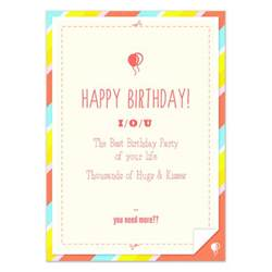 iou template search results for birthday iou calendar 2015