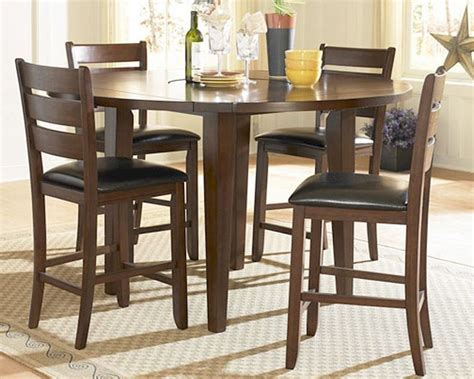 tall dining room sets ameillia countrer height dining room set el 586 36rds