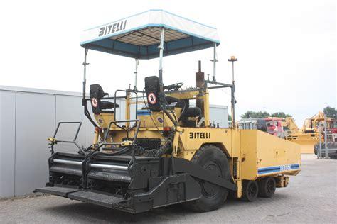 Paving Suppliers Bitelli Bb670 1996 Paving Equipment 1 Dijk Heavy