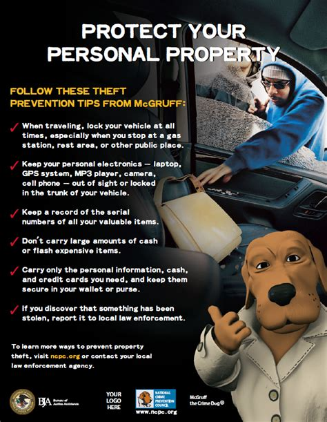 Personal Property Record How To Protect Your Personal Belongings From The Criminals