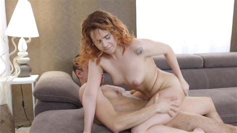 Date Of Sexy Redhead Vixen Effie Gold Ends With A