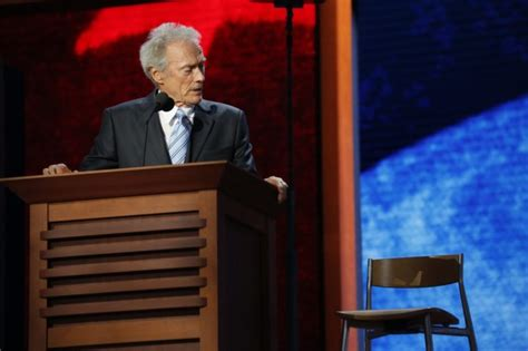 Clint Eastwood Talking To Chair by You Re The Generation Clint Eastwood The New Daily