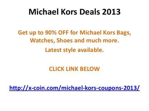 michael kors promo code discounts coupons 2015 michael kors coupon code april 2013 90 off may 2013