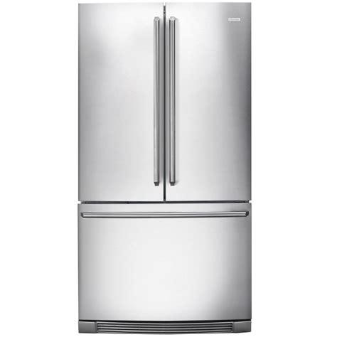 Counter Depth Door Refrigerator Stainless Steel by Shop Electrolux 22 6 Cu Ft Counter Depth Door