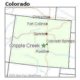 map of cripple creek colorado best places to live in cripple creek colorado