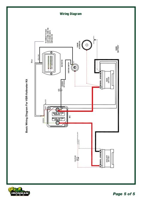dual alternator wiring diagram efcaviation