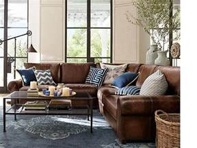 leather living room ideas 25 best ideas about pottery barn sofa on pinterest