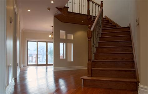 Install Hardwood Floor Transition To Stairs HARDWOODS