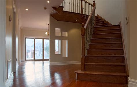 Install Hardwood Floor Transition To Stairs HARDWOODS
