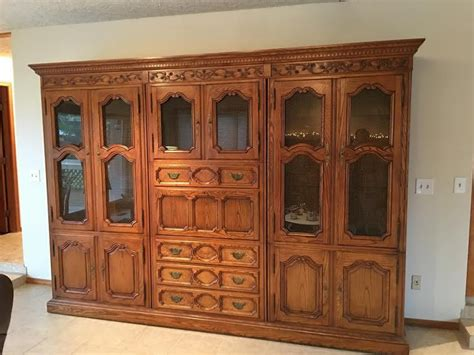 wall unit display cabinet wall unit desk bookcase curio cabinet display