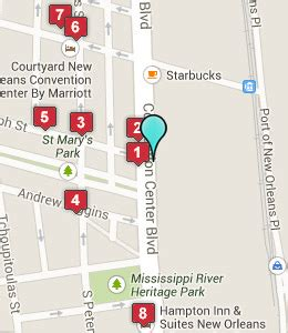 map of new orleans hotels near convention center hotels near convention center in new orleansnearest hotel