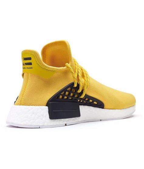 adidas nmd human race runner boost yellow casual shoes buy adidas nmd human race runner boost
