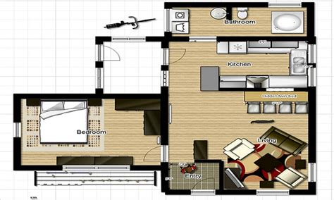 small country homes small one bedroom house floor