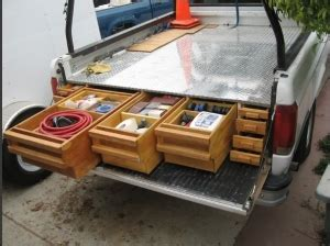 homemade pickup bed storage unit homemadetoolsnet
