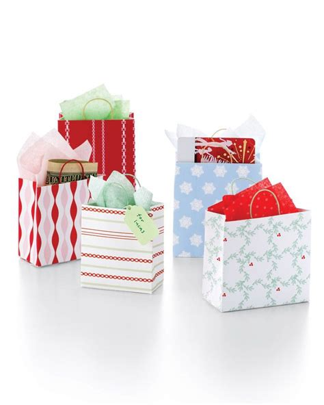 mini shopping bags bags the christmas and christmas gifts