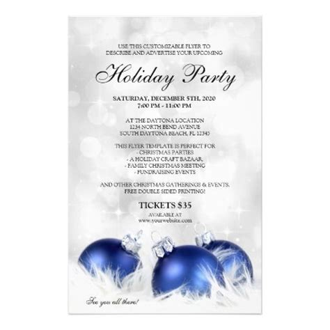 17 best images about christmas and holiday party flyers on