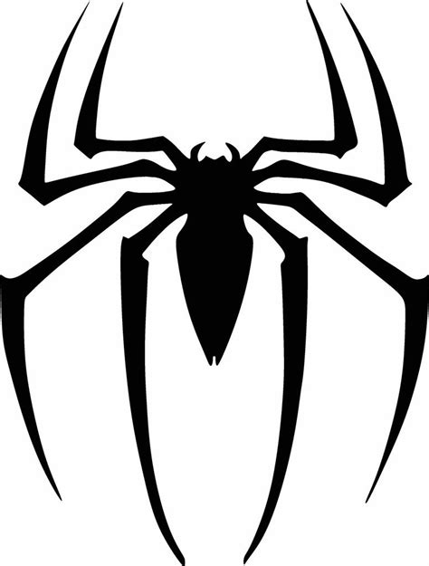 spiderman logo pattern spiderman logo vinyl cut out decal sticker choose your