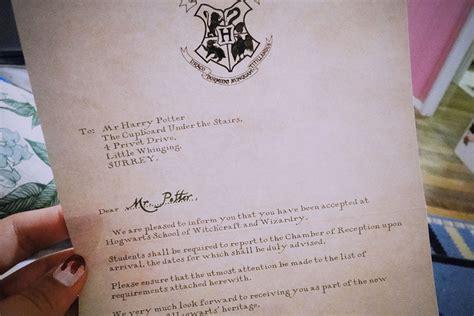 Harry Potter Acceptance Letter Size Original Size Of Image 171823 Favim