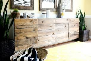 Dining Table Bench Seat With Storage Ikea Hacks Diy Reclaimed Wood Buffet