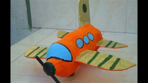 como hacer un avion de material reciclable como hacer un avioncito reciclando youtube