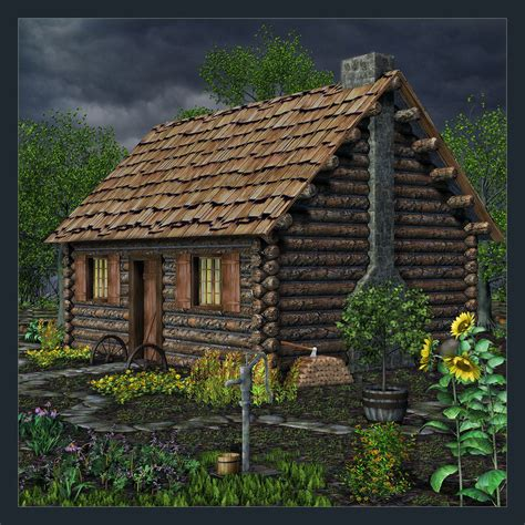 Country Cabin by Country Cabin By Cherishedmemories On Deviantart
