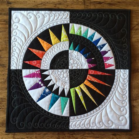 New York Quilt by Quiltification Mini Rainbow New York Quilt 2nd