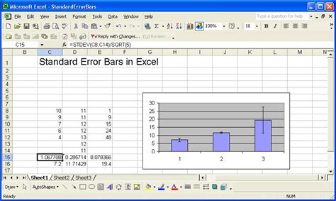adding error bars to charts in excel 2013 nathan brixius standard error bars in excel