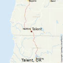 best places to live in talent oregon
