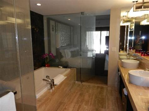 bathrooms com reviews view bathroom to bedroom picture of mandarin oriental