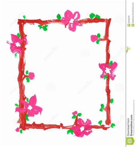 frame design in paper simple border designs for a4 paper clipart best